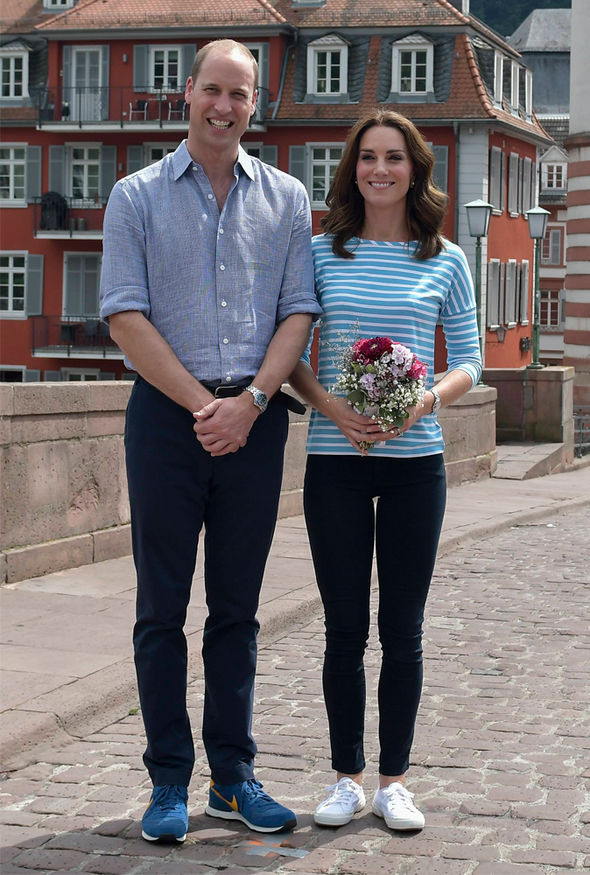 Duchess of Cambridge, Kate raced against Prince William in the boats Photo (C) PA