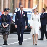 Duchess of Cambridge and Prince William arrive at Menin Gate in Ypres Belgium Image Rex