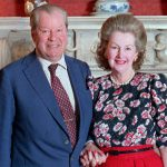 Earl Spencer and Raine Spencer at their home Photo C GETTY IMAGES