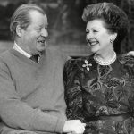 Earl and Countess Spencer at Althorp House. They were married until his death in 1992 Photo C GETTY IMAGES