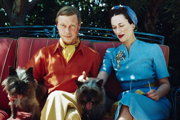 Edward VIII gave up his throne for the love of American divorcee Wallis Simpson 80 years ago exactly (Image Bettmann)