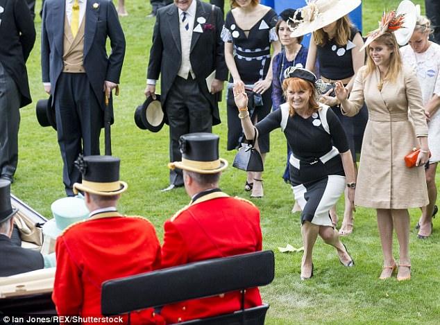 40 Princess Diana and Sarah Ferguson Photo C GETTY IMAGES