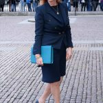 Fergie at the service for Ronnie Corbett where the Duchess was officially representing the Royal Family