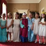 Harper Beckham celebrated her sixth birthday with a princess party at Buckingham Palace Photo C INSTAGRAM