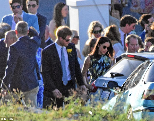 Harry, 32, and Meghan have been together for a year and speculation has been rife in recent weeks over whether marriage may be in their future
