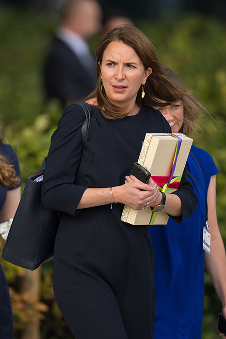 Her current private secretary Rebecca Priestley is stepping down this summer Photo (C) GETTY IMAGES