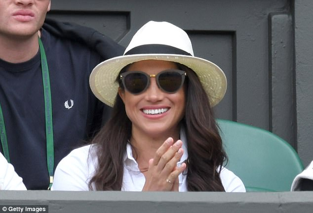 Meghan Markle: I got to watch tennis at Wimbledon, too. OK, not in the Royal Box this year, but maybe next year