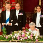 In his speech King Felipe said Spain stands united with the British people who at this time of suffering have once again shown dignity and strength of character