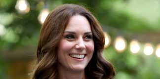 Kate Middleton The 35 year old dazzled in a bird print dress Photo C GETTY