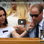 Kate Middleton and Prince William VERY Love Up as They Watch Roger Federer at Wimbledon