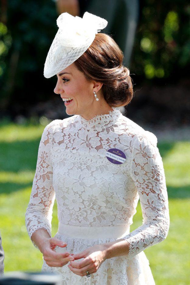 Kate Middleton stunned as ever rocking her new shorter locks. PA