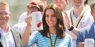 Kate Middleton in Heidelberg where she got to meet our very own George Pippas Photo C GETTY IMAGES