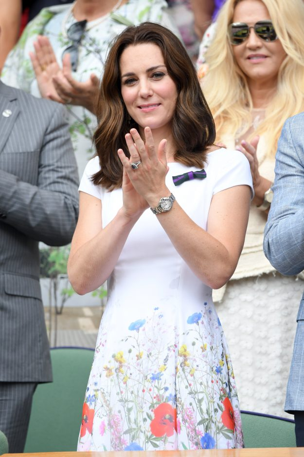 Kate Middletons wedding band also has a lot of sentimental family value Getty