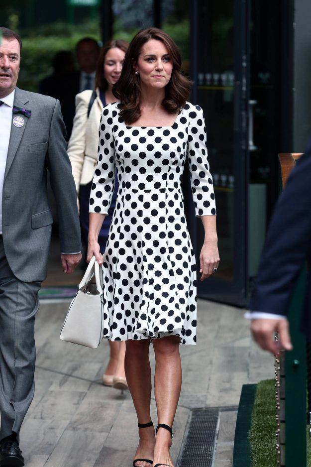 Kate Middleton stunned as ever rocking her new shorter locks. [PA]