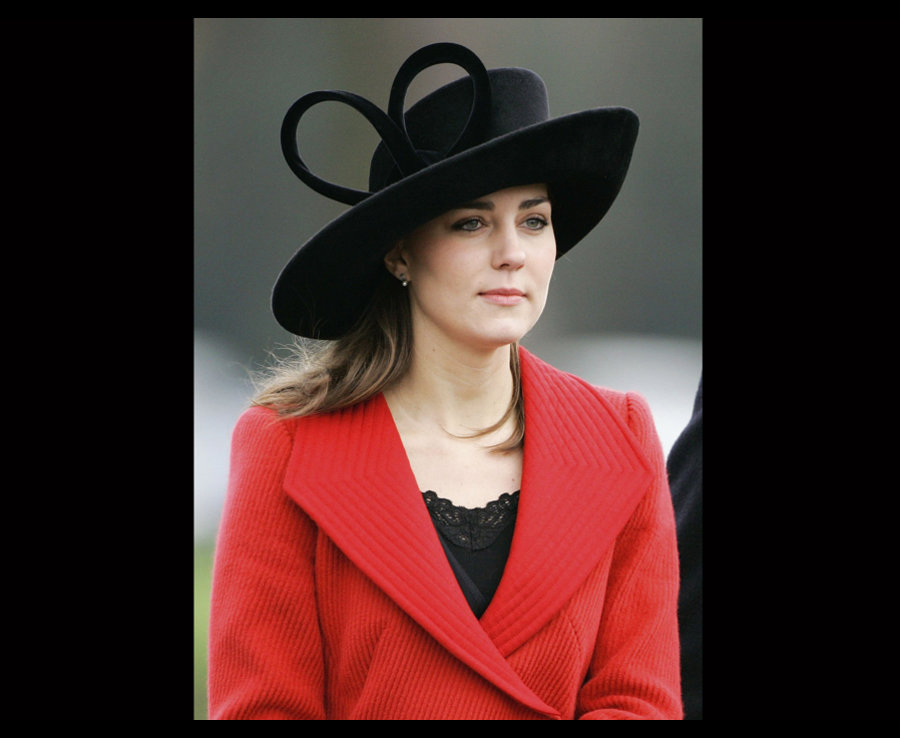 Kate Middleton watching Prince Williams passing out parade at Sandhurst military academy Photo C GRAHAM VIA GETTY IMAGES