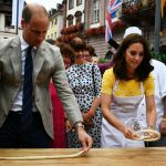 Kate and William had fun making pretzels in Heidelberg Photo C GETTY IMAGES