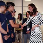 Kate looked completely at home in her new role as patron of the All England Club having taken over from the Queen