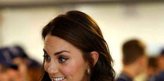 Kate showed off a shorter hairstyle at Wimbledon on Monday Photo C GETTY IMAGES