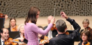 Kate the Conductor Watch the Royal Lead the Hamburg Philharmonic as the European Tour Comes to a Close Photo C GETTY IMAGES