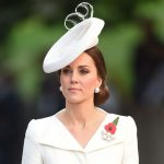Kate was dressed in a cream Alexander McQueen dress Image PA