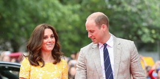 Kate wore sunshine yellow on the fourth day of the royal tour Photo C GETTY IMAGES