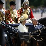 Letizia 44 travelled to Buckingham Palace in the State Landau the carriage which was built for the Coronation of King Edward VII in 1902