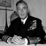 Lord Louis Mountbatten a British statesman and naval officer who was the last viceroy of India