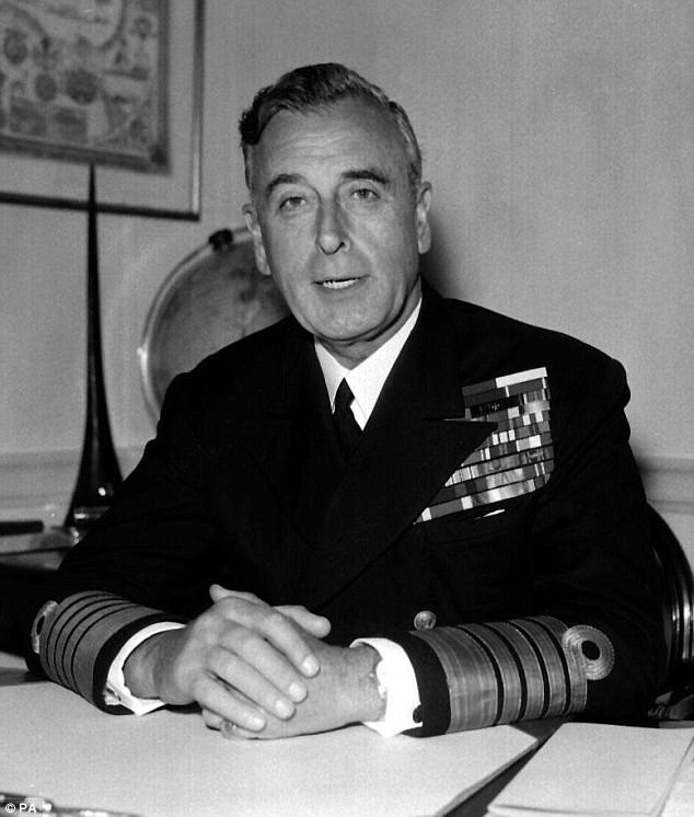 Lord Louis Mountbatten, a British statesman and naval officer, who was the last viceroy of India