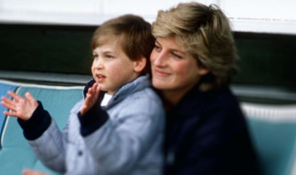 Loving mother Princess Diana remembered by Prince William and Prince Harry Photo (C) ITV