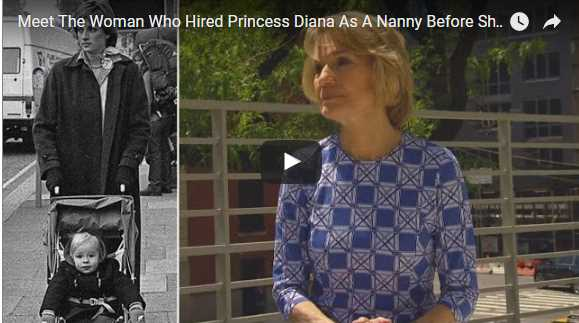 Meet The Woman Who Hired Princess Diana As A Nanny Before She Married Charles