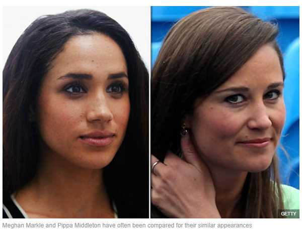 Meghan Markle and Pippa Middleton have often been compared for their similar appearances
