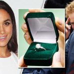 Meghan Markle and Prince Harry engagement ring Photo C GETTY IMAGES
