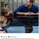 On the second day of his visit to #Leeds, Prince Harry has visited the family home of five year old Oliver Photo (C) INSTAGRAM