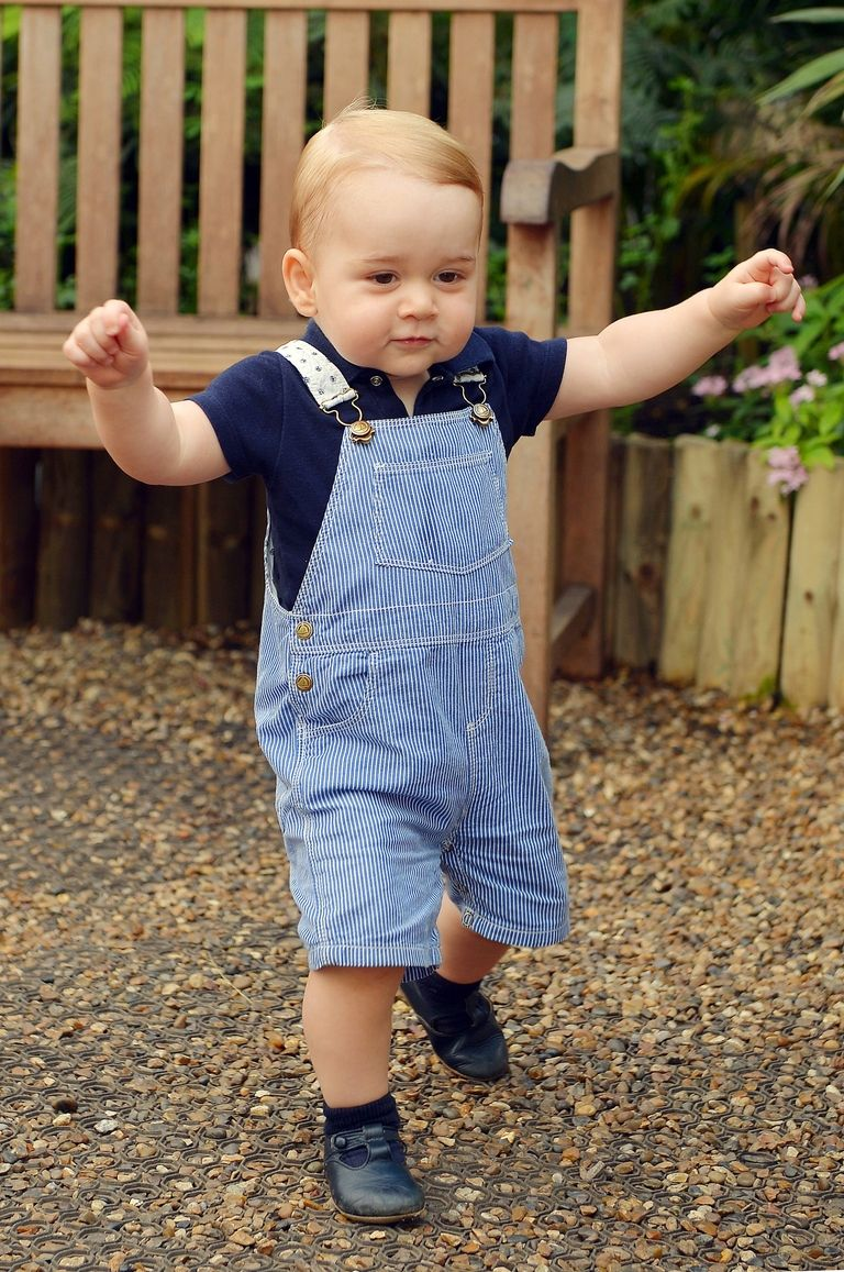 One-year-old Prince George in 2014 Photo (C) GETTY KENSINGTON PALACE TWITTER