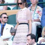 Pippa Middleton The newlywed looked very bronze no doubt from her whirlwind honeymoon Photo C GETTY IMAGES