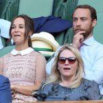 Pippa Middleton and James Middleton Enjoying the court drama Photo C GETTY IMAGES