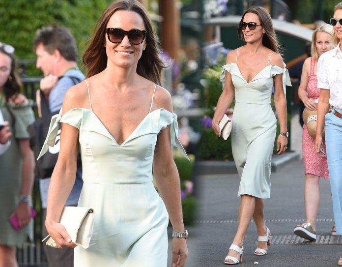 Pippa Middleton is an English author, columnist, and the younger sister of Catherine, Duchess of Cambridge Photo (C) GETTY IMAGES
