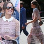 Pippa Middleton was a vision in pink Photo C GETTY IMAGES