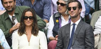 Pippa Middleton wows in Wimbledon white with husband James Matthews Photo C GETTY IMAGES