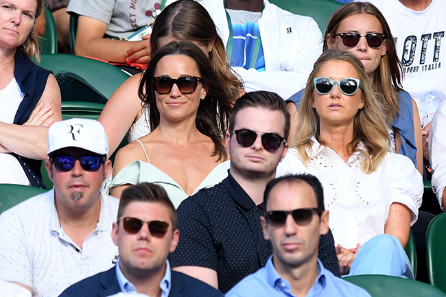 Pippa attended Wimbledon with a guest Photo C GETTY IMAGES