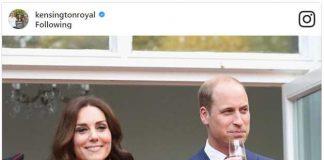 Pirnce William and Catherine Duchess of Cambridge Photo C INSTAGRAM