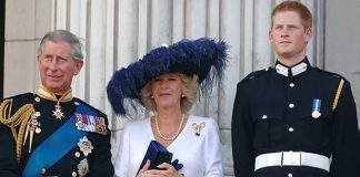Prince Charles Camilla Parker Bowles and Prince Harry Photo C GETTY IMAGES
