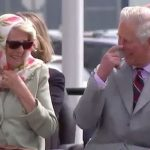 Prince Charles and the Duchess of Cornwall were seen laughing during an Inuit performance Photo C NC