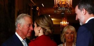 Prince Charles gets awkwardly close to Queen Letizia Personal Space totally Invaded Photo C GETTY IMAGES