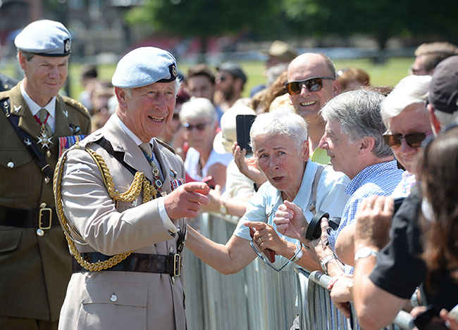 Prince Charles spoke about Harry at a 60th anniversary celebration Photo (C) GETTY IMAGES