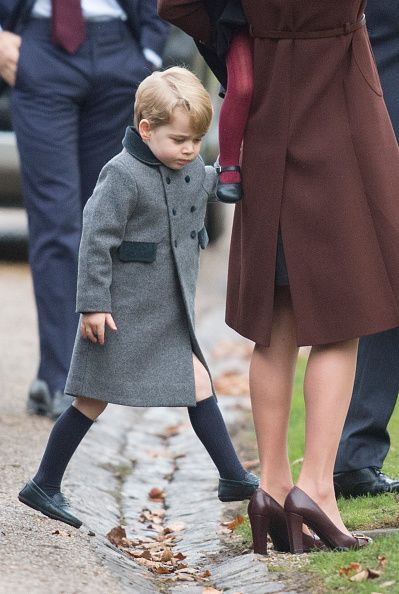 Emotional William and Kate take George and Charlotte to mark Princess Dianas birthday