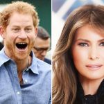 Prince Harry and Melania Trump will meet Photo C GETTY