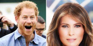 Prince Harry and Melania Trump will meet Photo C GETTY