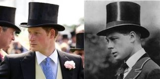 Prince Harry and the the Queens paternal uncle David the Prince of Wales later King Edward VIII who abdicated Photo C GETTY IMAGES