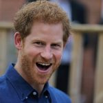 Prince Harry during a visit to Oliver Rooneys home in Bramley a boy who has Wolf Hirschhorn Syndrome